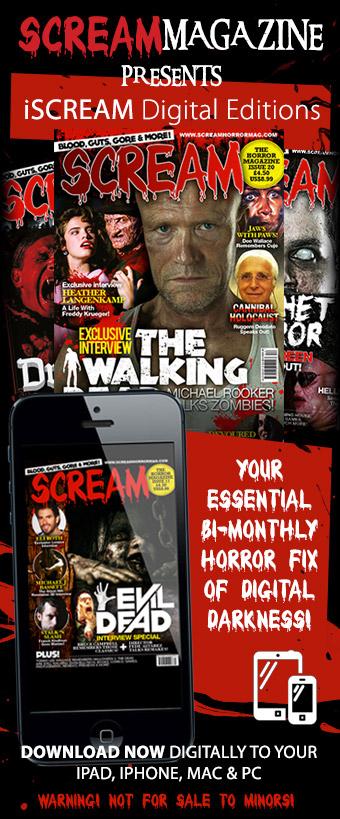iScream Digital Editions of Scream Horror Magazine!