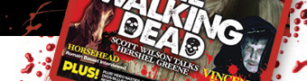 Buy the latest copy of Scream Horror Magazine UK