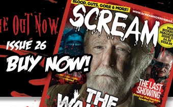 Latest Edition of Scream Horror Magazine