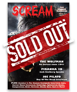 Scream Horror Magazine Issue 1