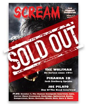 Scream Horror Magazine Issue 1