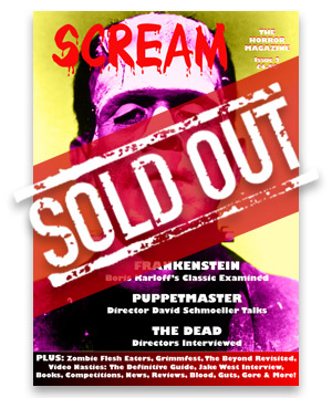 Scream Horror Magazine Issue 2