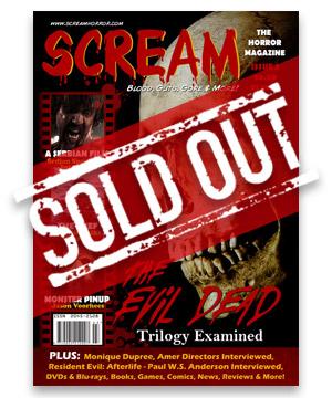 Scream Horror Magazine Issue 3