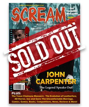 Scream Horror Magazine Issue 4