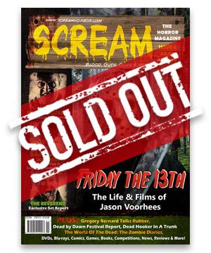 Scream Horror Magazine Issue 6