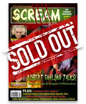 Scream Horror Magazine Issue 7