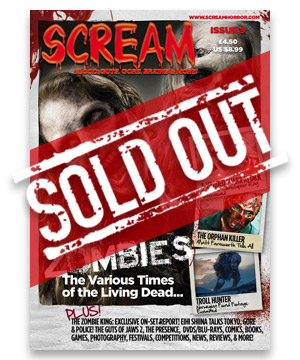 Scream Horror Magazine Issue 9