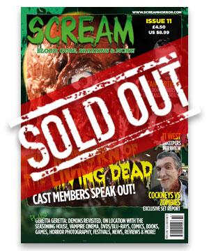 Scream Horror Magazine Issue 11