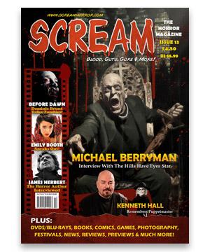 Scream Horror Magazine Issue 13