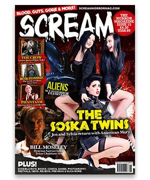Scream Horror Magazine Issue 15