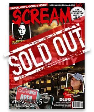 Scream Horror Magazine Issue 16