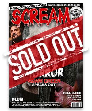 Scream Horror Magazine Issue 19