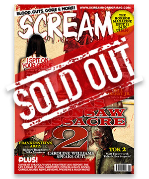 Scream Horror Magazine Issue 21