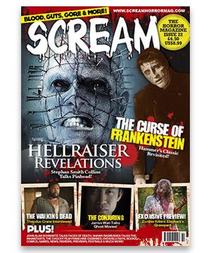 Scream Horror Magazine Issue 22