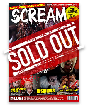 Scream Horror Magazine Issue 23