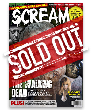 Scream Horror Magazine Issue 25