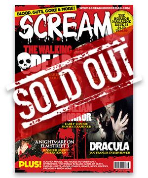 Scream Horror Magazine Issue 28