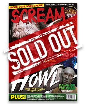 Scream Horror Magazine Issue 32