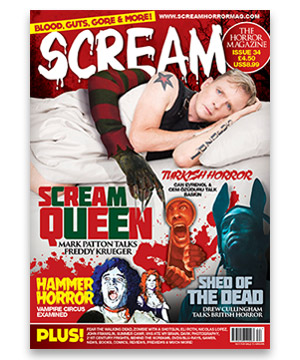 Scream Horror Magazine Issue 34