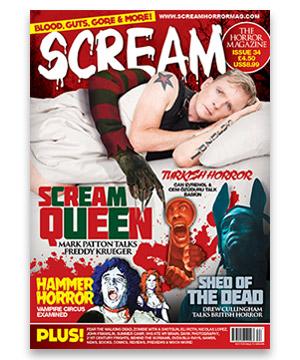 Scream Horror Magazine Issue 34