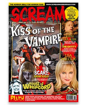 Scream Horror Magazine Issue 36