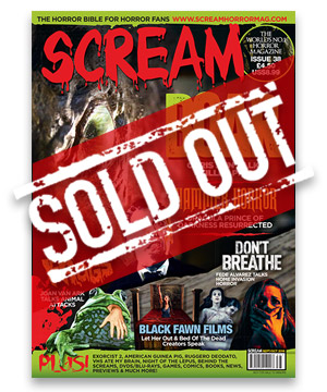 Scream Horror Magazine Issue 38
