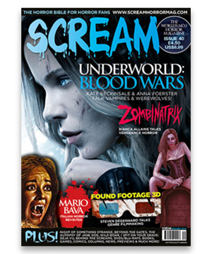 Scream Horror Magazine Issue 40