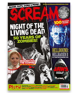 Scream Horror Magazine Issue 52
