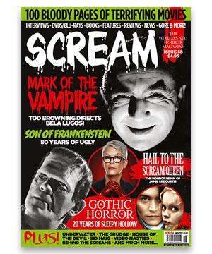 Scream Magazine Issue 58