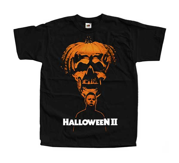 HALLOWEEN II MICHAEL MYERS Inspired Black T-Shirt