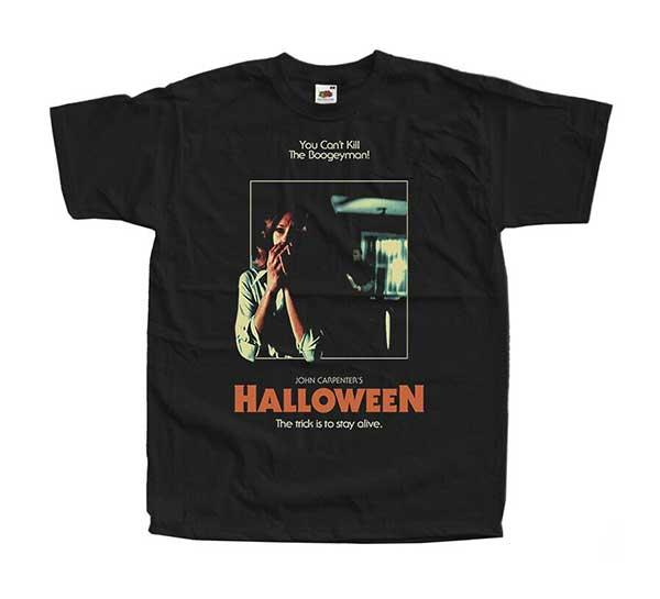 HALLOWEEN MICHAEL MYERS Inspired Black T-Shirt (Design #2)