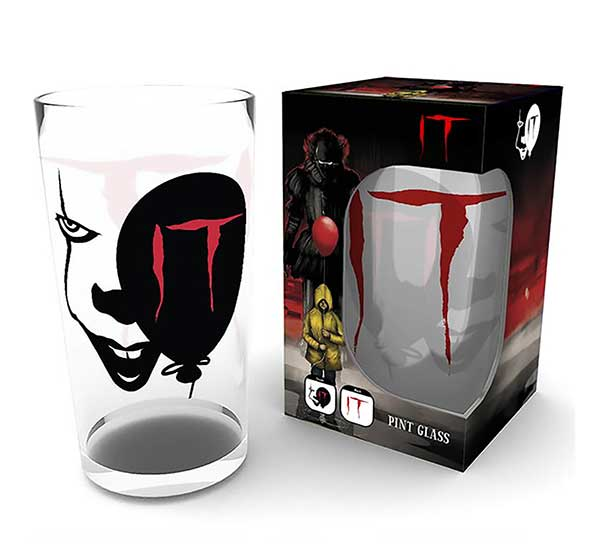 IT Pennywise Pint Glass