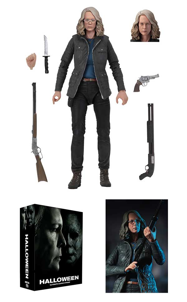 NECA Halloween (2018) Laurie Strode 7 inch Scale Action Figure