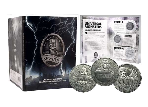 Universal Monsters Coin Album