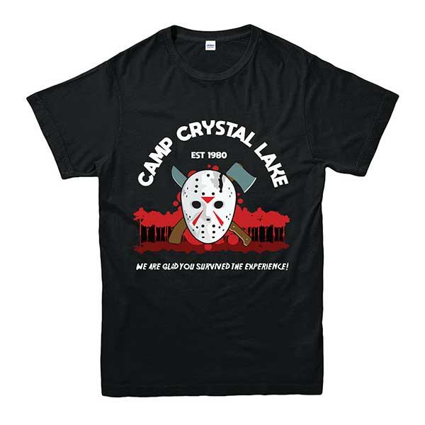 Camp Crystal Lake Camping T-shirt