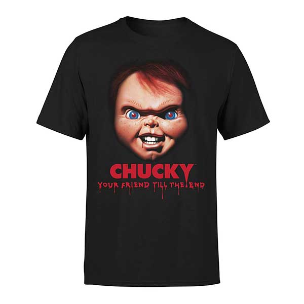 Chucky Friends Till The End Unisex Black T-Shirt