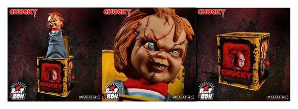 Scarred Chucky Burst A Box