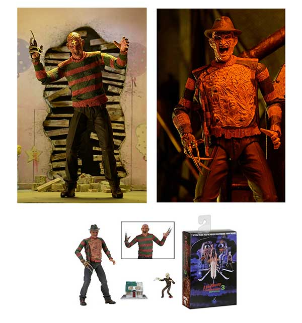 Nightmare On Elm Street Dream Warriors Freddy Figure