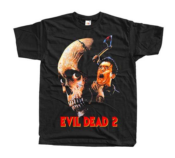Evil Dead 2 Black STRANGLE T-Shirt