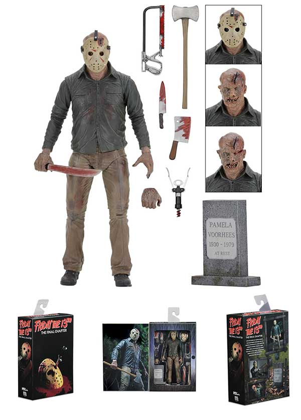NECA Friday The 13th Part 4 7 inch Jason Voorhees Action Figure