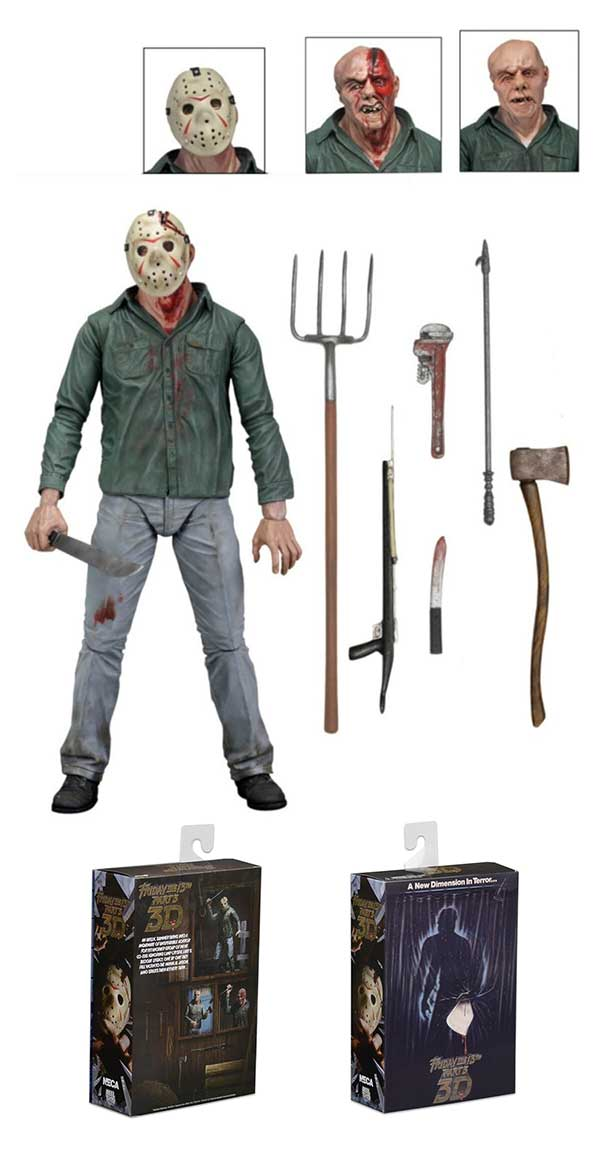 Jason Voorhees Friday The 13th Part 3 Figure