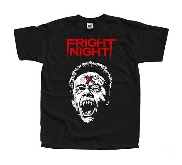 FRIGHT NIGHT Evil Ed Black T-Shirt