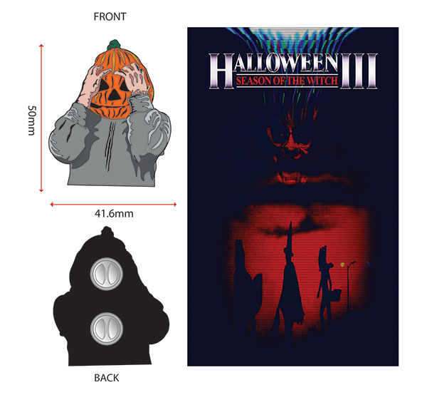 HALLOWEEN 3: SEASON OF THE WITCH ENAMEL PIN (DESIGN #1)