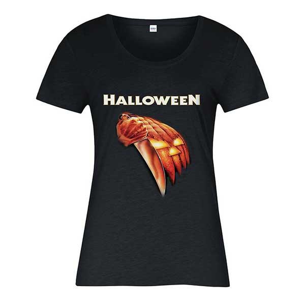 Halloween Slasher Michael Myers Ladies T-Shirt