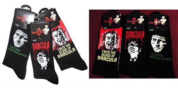 Hammer Horror Socks (UK Size Fits 6-12)