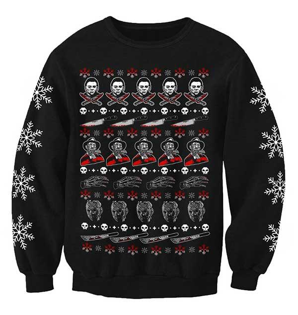 Men's Horror Icon Christmas Jumper