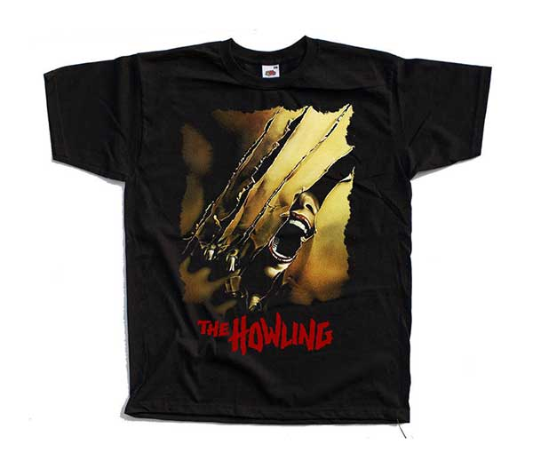 THE HOWLING Dee Wallace Inspired Black T-Shirt