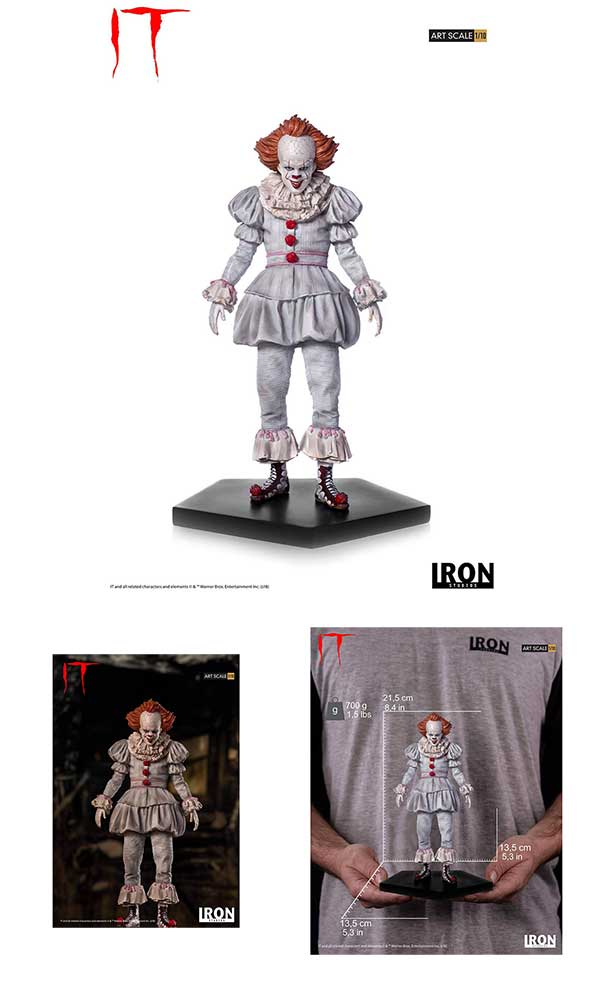 Stephen King's IT 2017 Statue 1/10 Pennywise