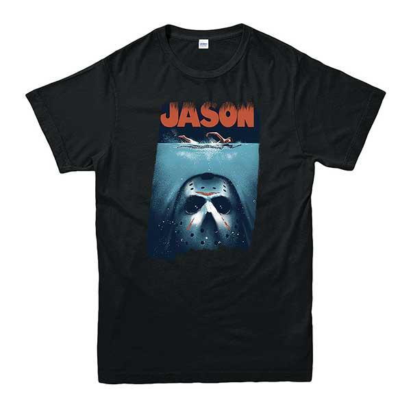 Jason Voorhees Spoof Jaws Men's T-Shirt