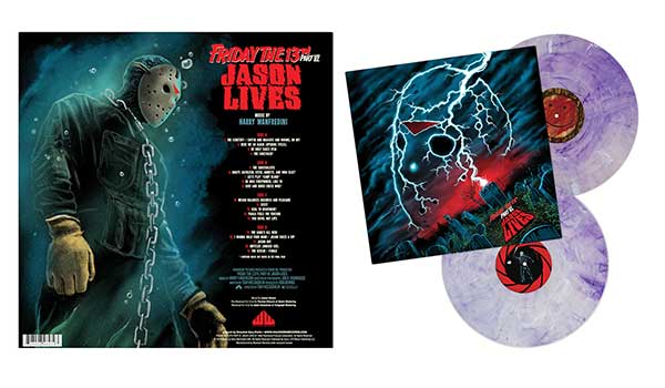 Friday The 13th Part VI: Jason Lives 2 x VINYL LP